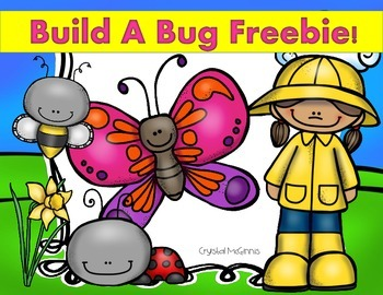 Build a Bug Freebie