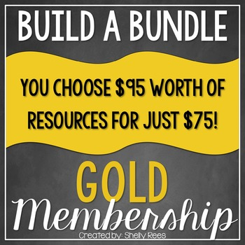 Build a Bundle - Gold Level  {Create your Own Bundle}