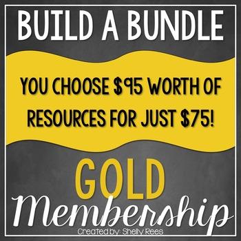 Build a Bundle - Gold Level  {Create your Own Bundle}