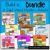 "Build a... Bundle: Mystery Sight Word ""Hangman"" Twist Game"