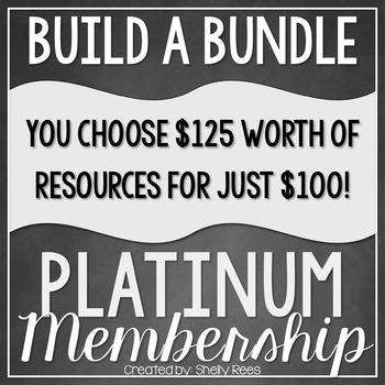 Build a Bundle - Platinum Level  {Create your Own Bundle}