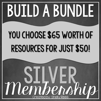 Build a Bundle - Silver Level  {Create your Own Bundle}