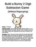 Build a Bunny 2 Digit Subtraction Without Regrouping Game