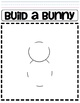 Build a Bunny Addition or Subtraction Math Game Worksheet