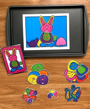 Build a Bunny Center Activities