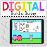 Build a Bunny Digital Activity   Distance Learning