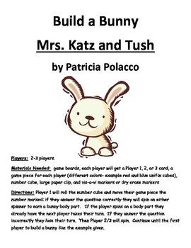 Build a Bunny Mrs. Katz and Tush by Patricia Polacco