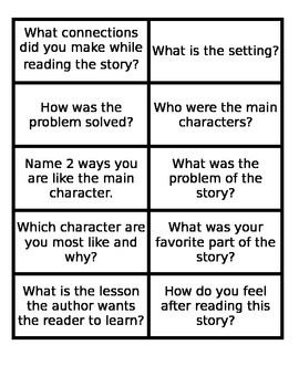 Build a Bunny Mrs. Katz and Tush by Patricia Polacco Comprehension