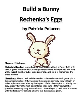 Build a Bunny Rechenka's Eggs by Patricia Polacco