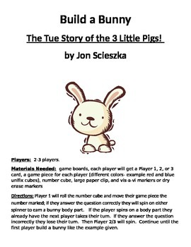 Build a Bunny: The True Story of the 3 Little Pigs! by Jon Scieszka