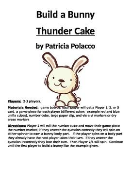 Build a Bunny Thunder Cake by Patricia Polacco