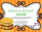 Build-a-Burger Categories FREEBIE