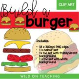 Build-a-Burger Clip Art | WILD CLIPS