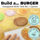 Build a Burger Following Directions