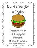 Build a Burger: Procedural Writing & Word Wall Materials &