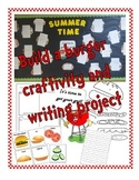 Build a Burger Writing and Craftivity project