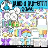 Build a Butterfly Game Clip Art Set - Chirp Graphics