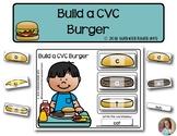 Build a CVC Burger | Phonics & Literacy Games | Word Building