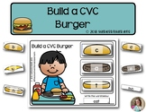 Build a CVC Burger | Phonics & Literacy | Word Building