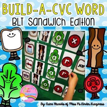 Build a CVC Word: BLT Sandwich Edition