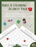 Build a Calendar Activity Pack