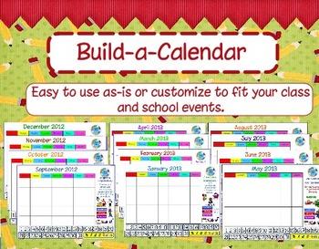 Build a Calendar: Customized  Activboard Calendar