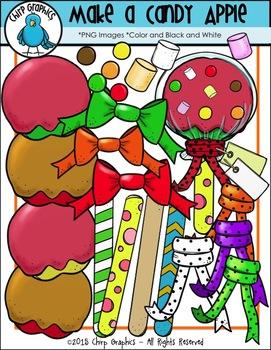 Make a Candy Apple Clip Art Set - Chirp Graphics