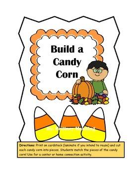 Build a Candy Corn