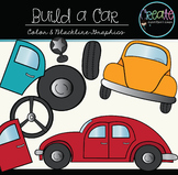 Build a Car - Digital Clipart