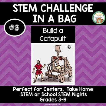 Build a Catapult:  STEM Challenge in a Bag