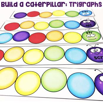 Build a Caterpillar: Trigraphs