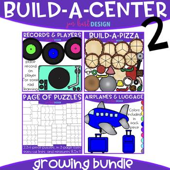 Build-a-Center Clipart- Growing Bundle 2 {jen hart Clip Art}