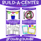 Build-a-Center Clipart- Growing Bundle {jen hart Clip Art}