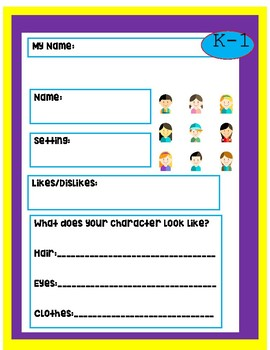 Build a Character English Language Arts ELEMENTARY