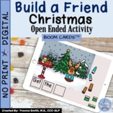 Build a Friend Christmas Speech and Language Boom Cards™