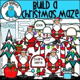 Build a Christmas Maze Clip Art Set - Chirp Graphics