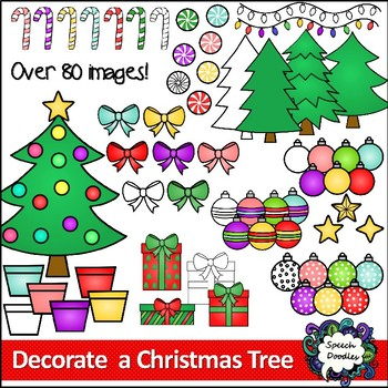 Build a Christmas Tree Clipart - Decorate a Christmas Tree Clipart