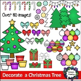 Build a Christmas Tree Clipart - Decorate a Christmas Tree