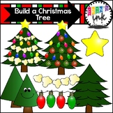 Build a Christmas Tree Clipart (Erins Ink Clipart)