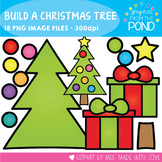 Build a Christmas Tree -  Clipart for Teaching Resources