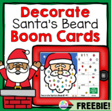 Free Christmas Speech Therapy Boom Cards