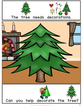 Build a Christmas Tree-INTERACTIVE ADAPTED BOOK