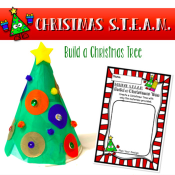 Build a Christmas Tree - STEAM STEM