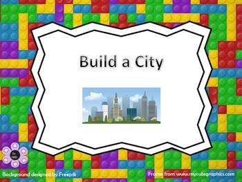"""""""Build a City"""" - Counting up to 10"""