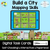 Build a City: Mapping Skills | Boom Cards™ Digital Task Cards