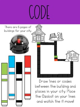 Build a City- Ozobot Coding
