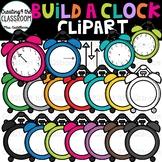 Build a Clock {Clock Clipart}