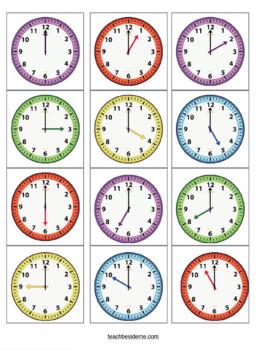 Build a Clock Set