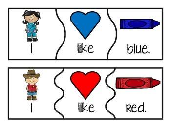 Build a Color Word Sentence