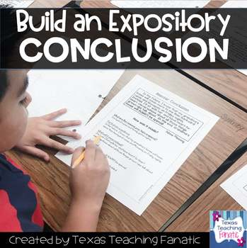 Build a Conclusion: Expository